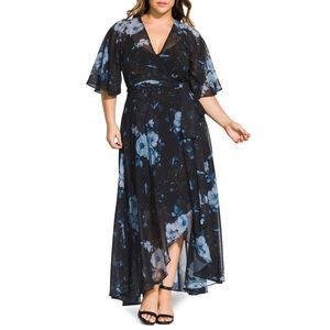 CITY CHIC BONSAI FLORAL MAXI DRESS 🌺IN STORES🌺
